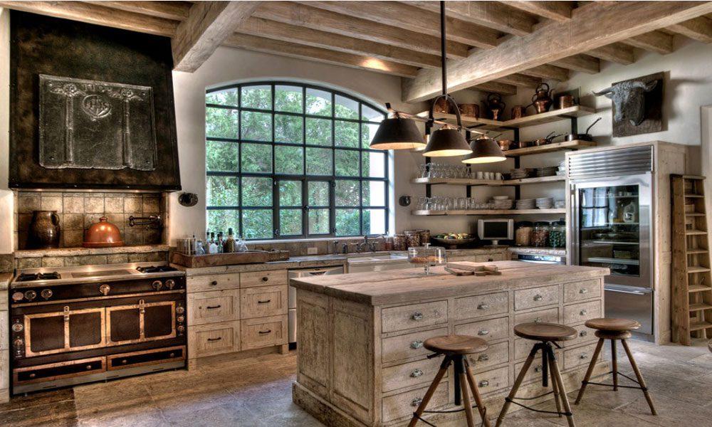 rustik mutfaklar