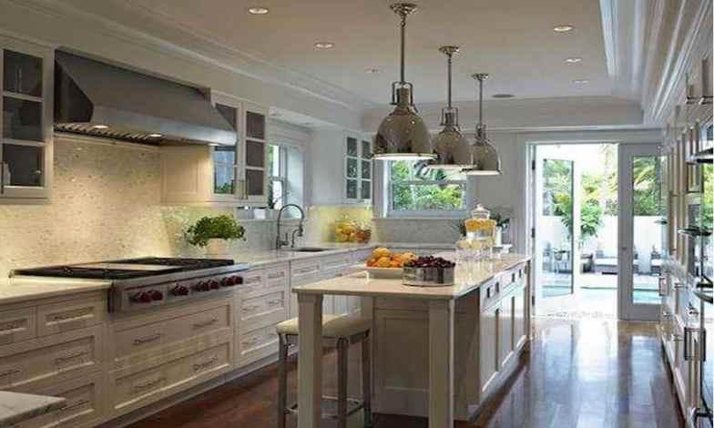 uzun dar mutfak dizaynı