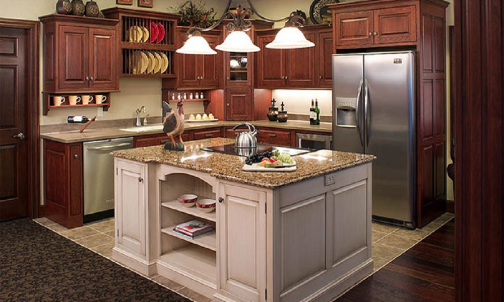 modern ahşap mutfak modeli15