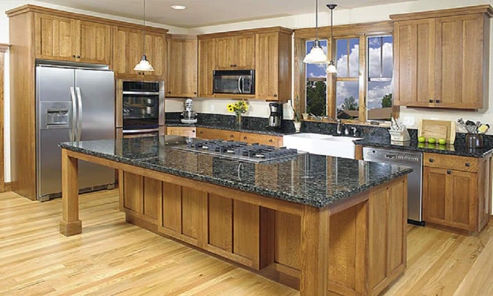 modern ahşap mutfak modeli2