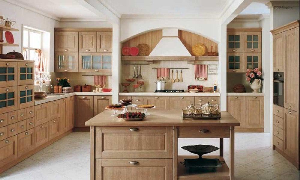 modern ahşap mutfak modelist27
