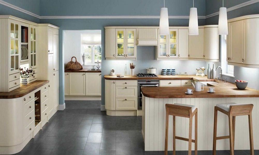 modern ahşap mutfak modeli9