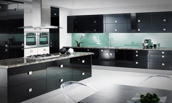 siyah lake mutfak