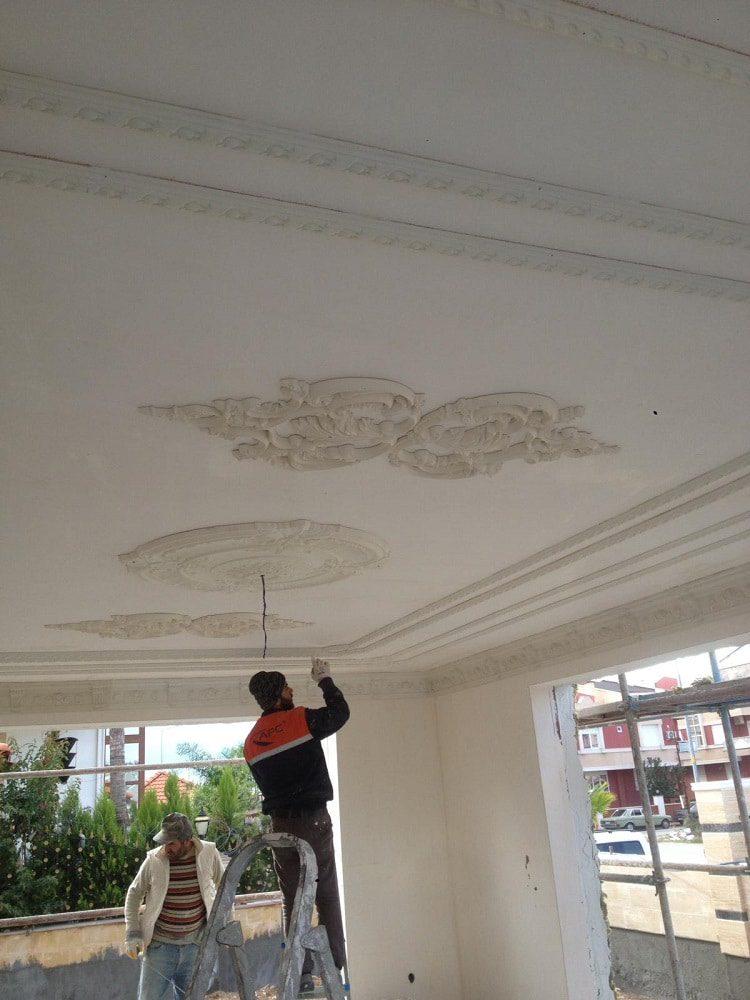 Tavan süsleme ve dekorasyon işimiz 1