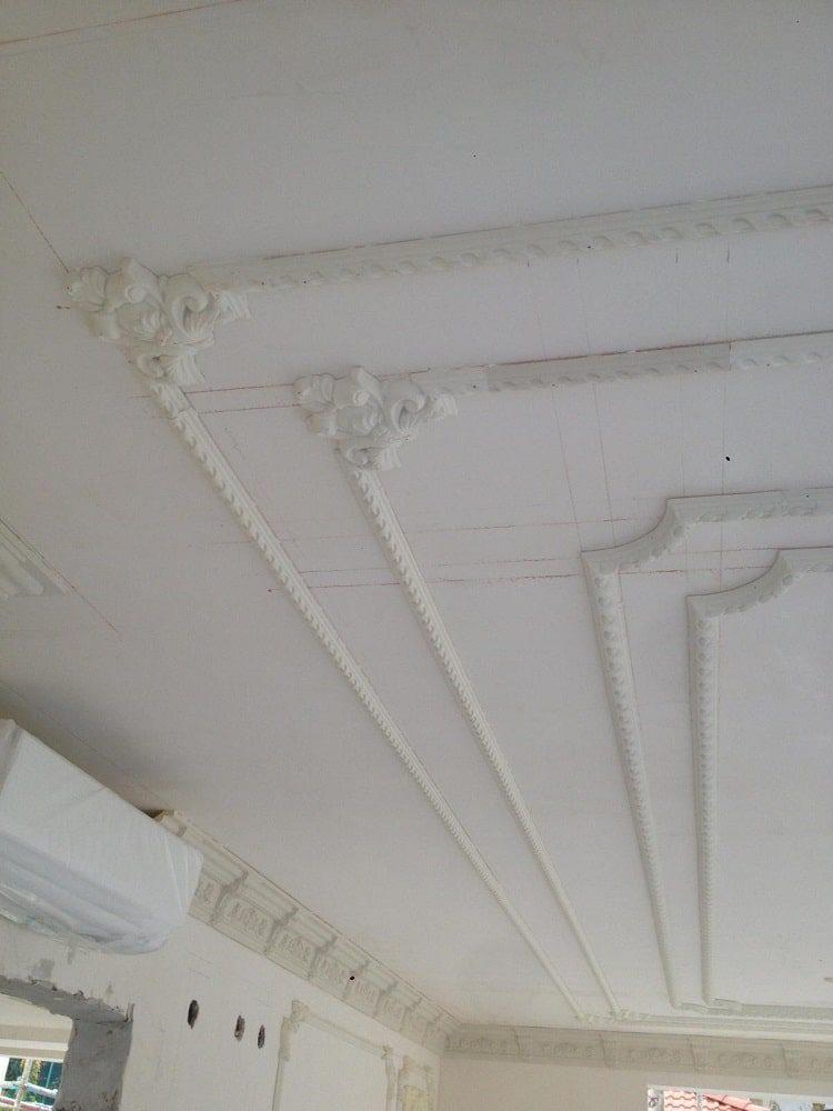 Tavan süsleme ve dekorasyon işimiz 4