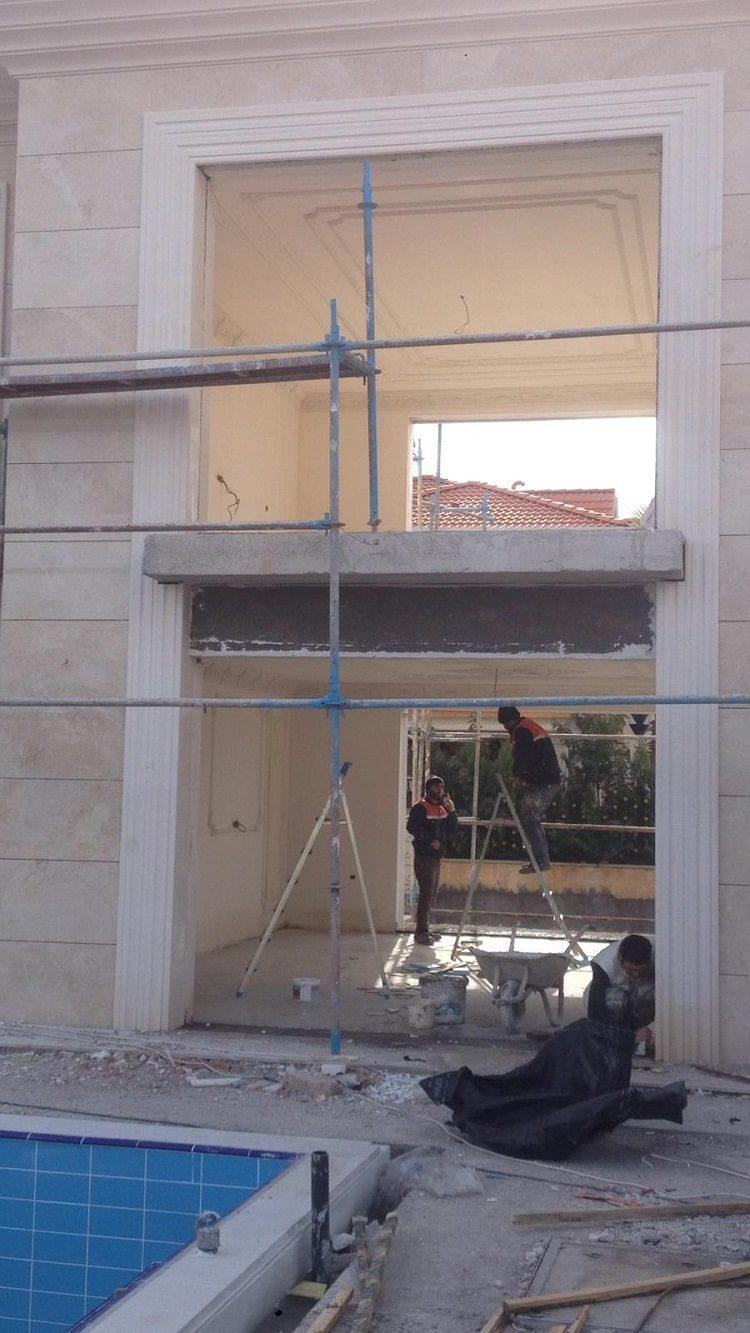 Tavan süsleme ve dekorasyon işimiz 6
