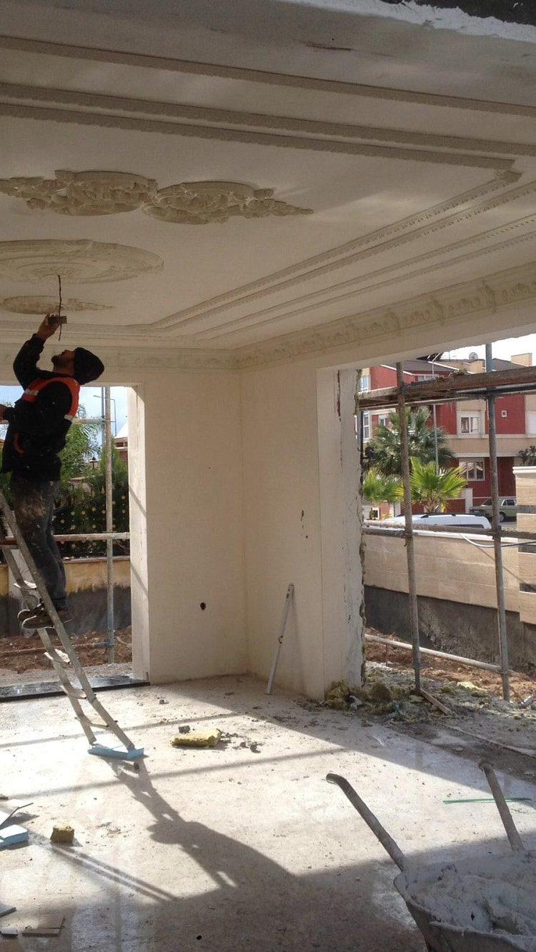 Tavan süsleme ve dekorasyon işimiz 9