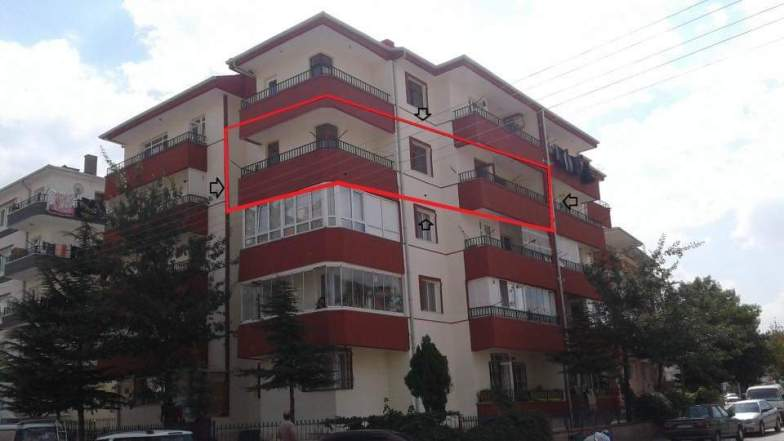 Kızılayda daire komple tadilat