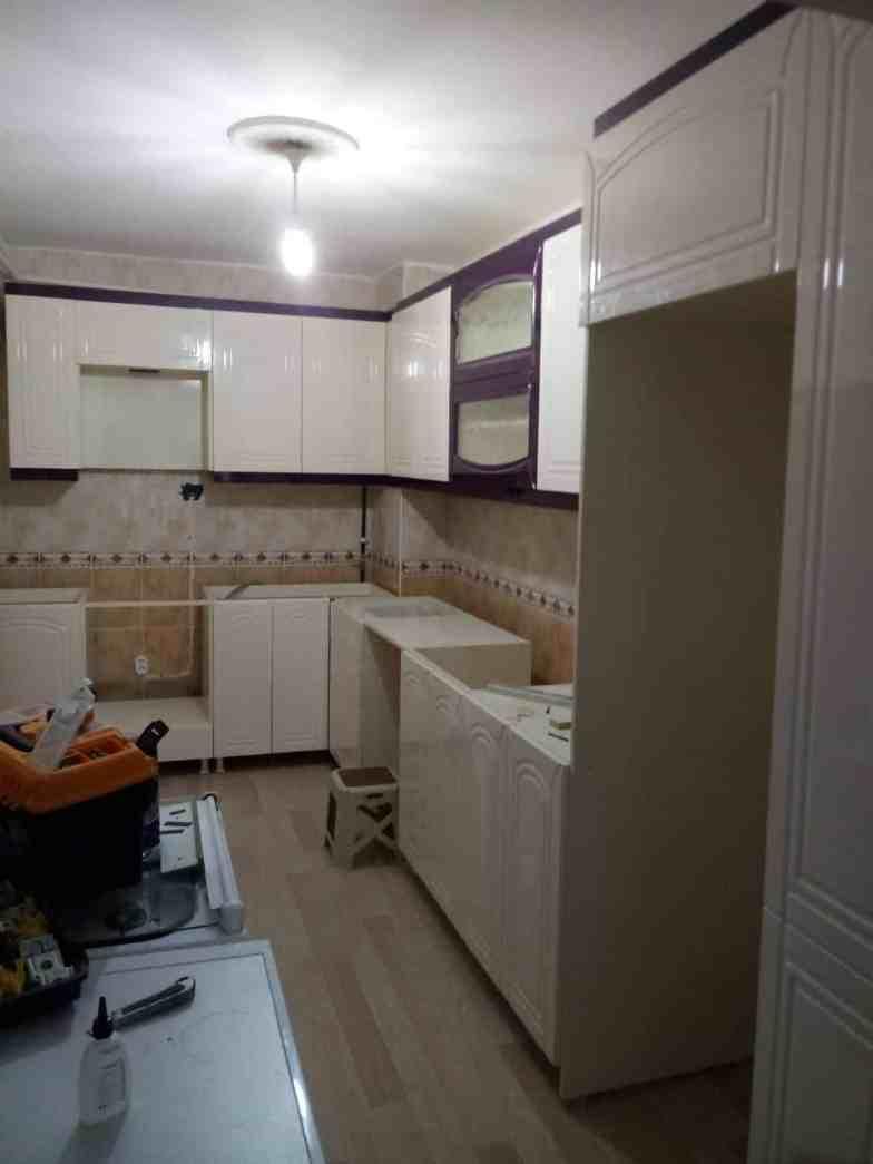 Sergül Hanımın mutfak tadilat işi (Cebeci)