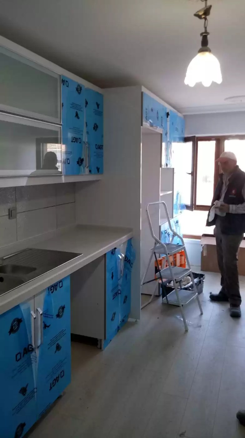 Serap hanımın mutfak tadilat işleri (Gölbaşı)