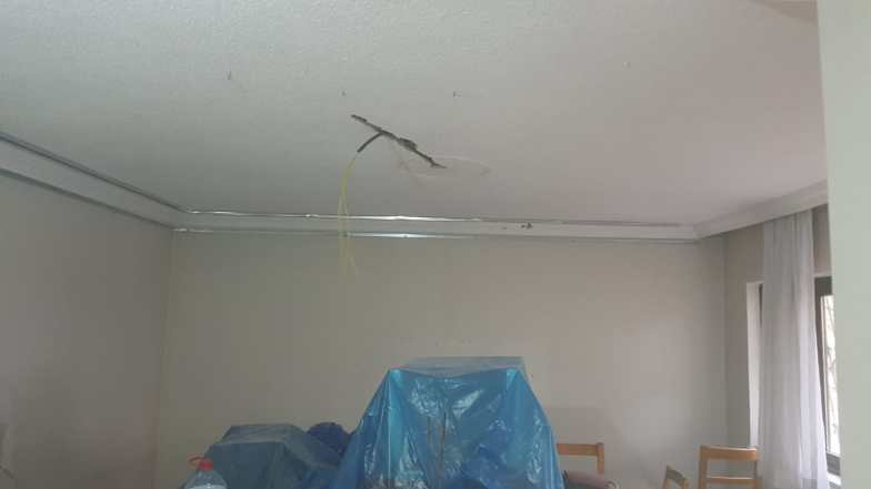 Salon led ışıklı asma tavan çalışmamız devam ediyor
