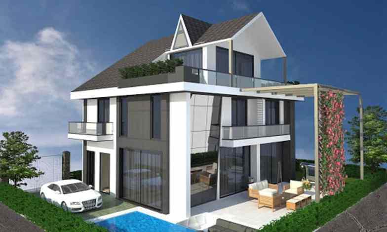 Tripleks Villa Modeli 7