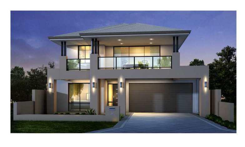 İki katlı ev ve villa modelleri 13