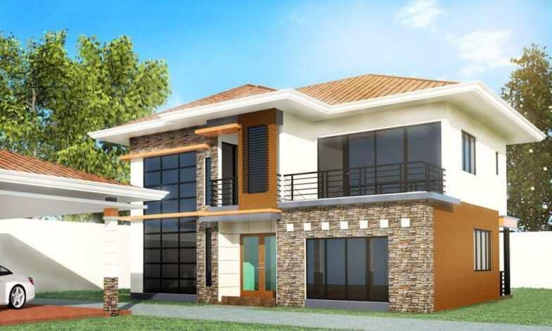 İki katlı ev ve villa modelleri 15
