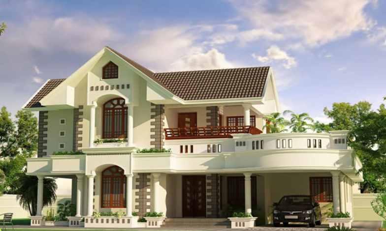 İki katlı ev ve villa modelleri 20