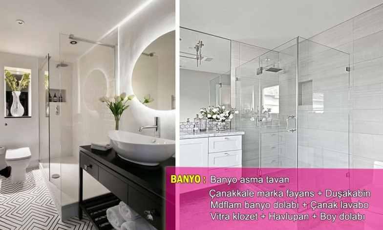 Banyo dizaynları