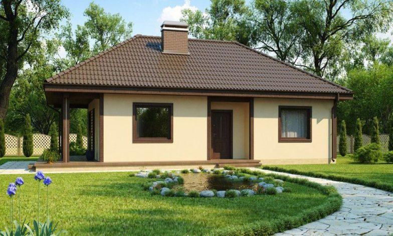 Tek katlı müstakil ev projeleri 10