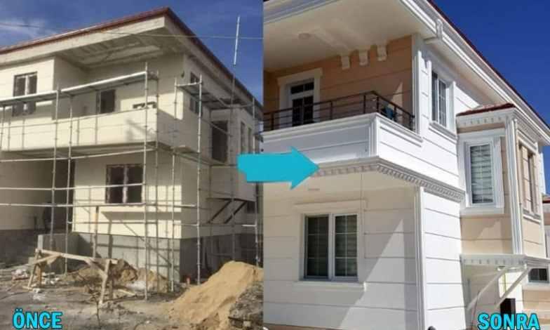 komple villa yapımı temelden çatıya betonarme