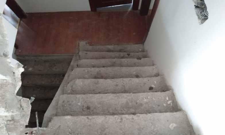 Ahşap merdiven kaplama1