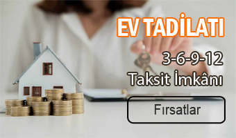 Taksitle ev tadilatı
