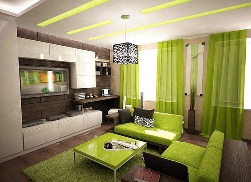 茶色と緑の組み合わせ