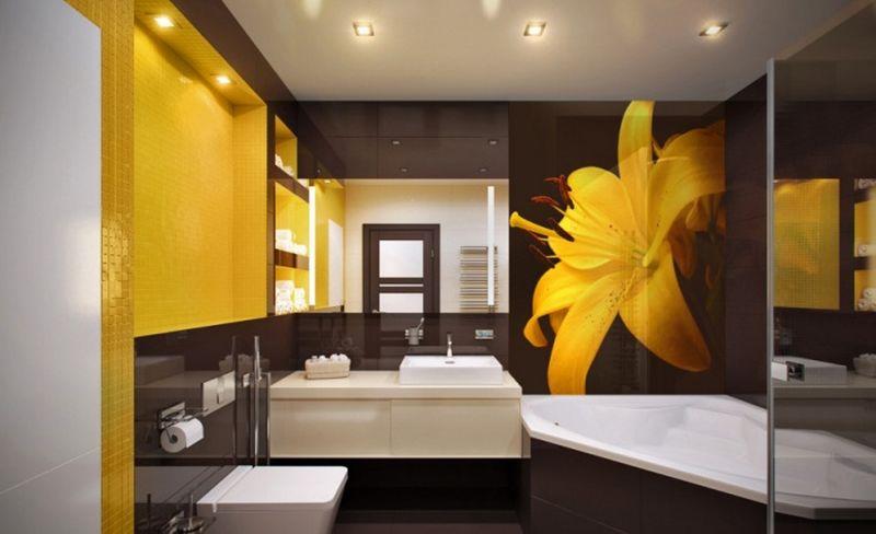 茶色の黄色と黄色の組み合わせ