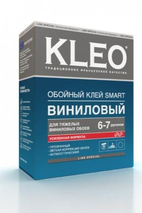 Клей бренда Kleo для обоев: обойный клей для флизелиновых ...