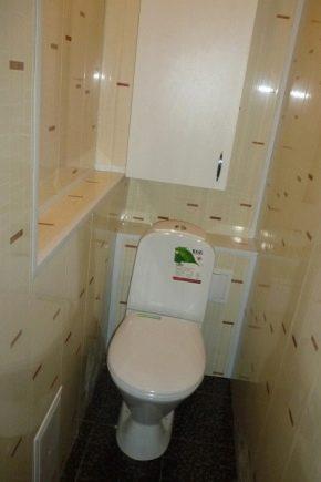 Отделка туалета пластиковыми панелями (95 фото): как во ...
