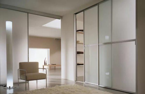 Раздвижные двери для гардеробной (75 фото): как самому ...