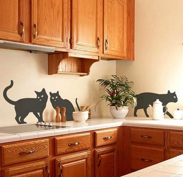Наклейки на фартук в кухне 42 фото виниловые картинки