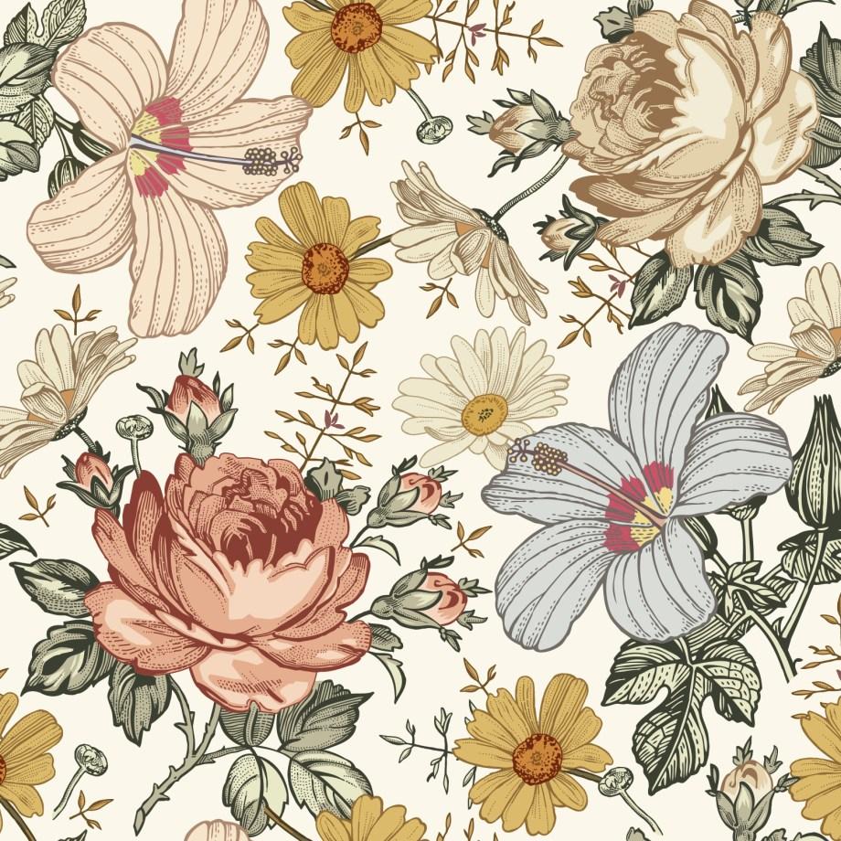 tapeta-kwiatowa-do-sypialni