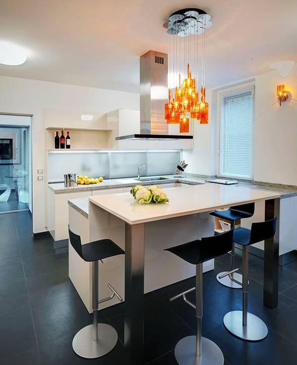 Kitchen design in modern style