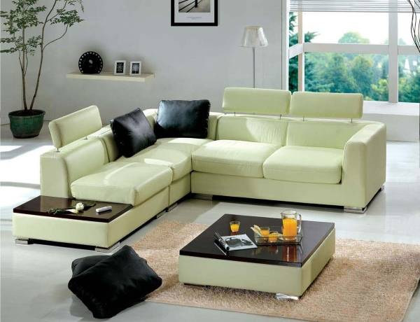 Modern köşe kanepeler fotoğrafı