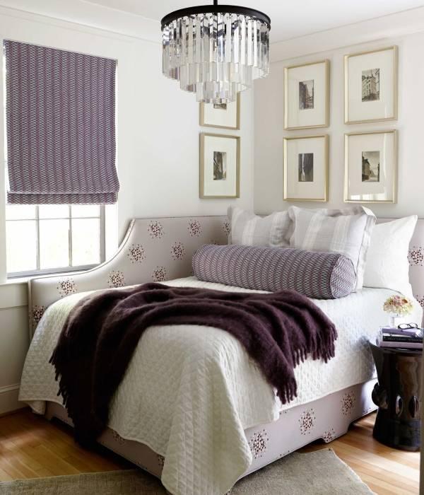 Güzel köşe döşemeli mobilya - köşe yatak fotoğrafı