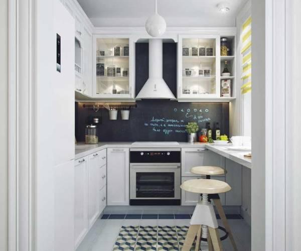 Дизайн малогабаритной кухни от 6 до 10 кв м (фото интерьеров)