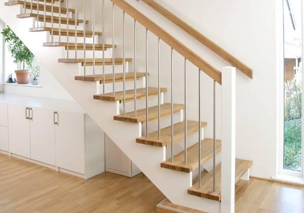 Красивые лестницы на второй этаж в частном доме фото обзор