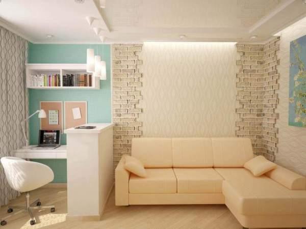 Дизайн 1 комнатной квартиры хрущевки для современного ...