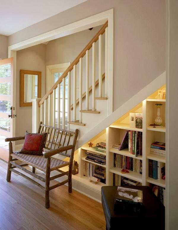 merdivenlerin altında kendin yap gardırop, fotoğraf 11
