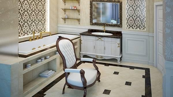klasik tarzda banyo karoları, fotoğraf 15