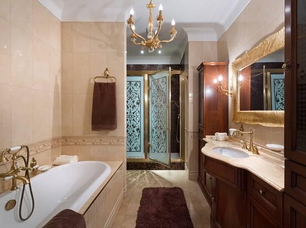 klasik tarzda banyo apliği, fotoğraf 26