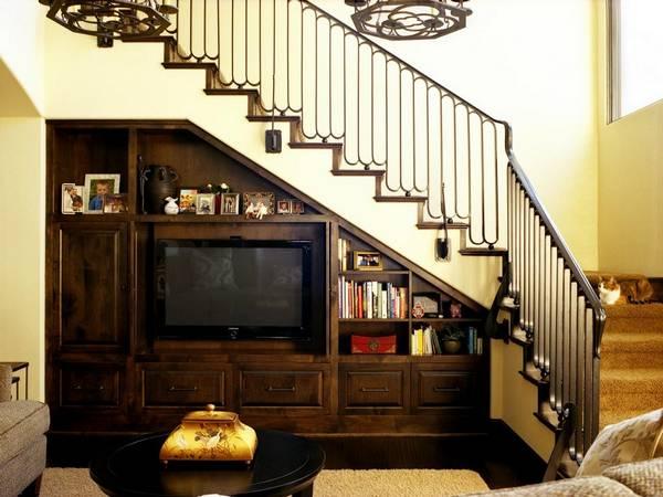 merdivenlerin altında kendin yap gardırop, fotoğraf 26