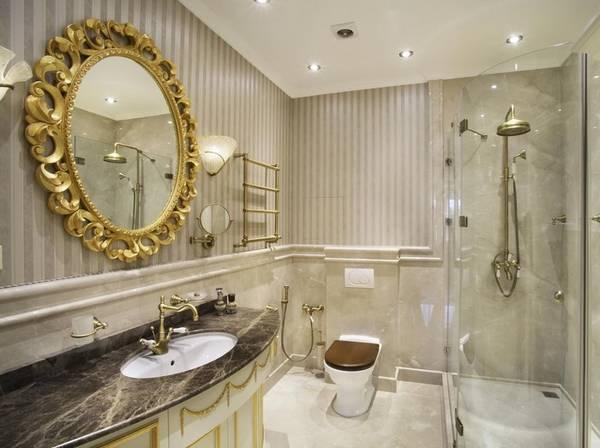 klasik tarzda banyo tasarımı fotoğraf, fotoğraf 4
