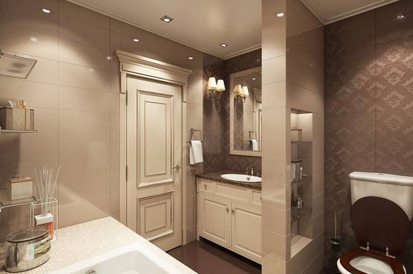 klasik tarz fotoğrafta banyo iç mekanları, fotoğraf 6