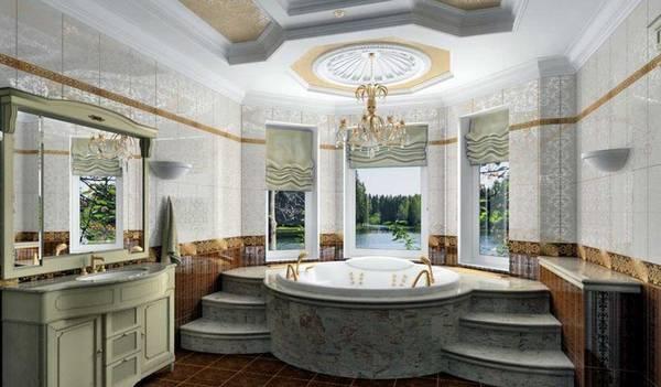 klasik tarzda banyo, fotoğraf 7