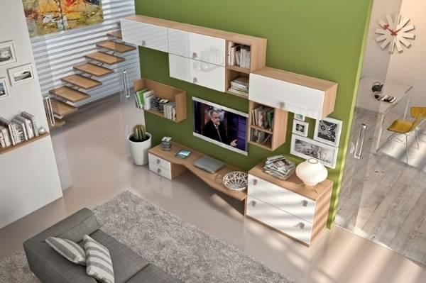 oturma odasında modern duvar dolapları, fotoğraf 40