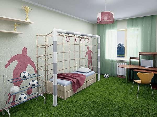 5 yaşında bir çocuk için çocuk odasının içi, fotoğraf 10