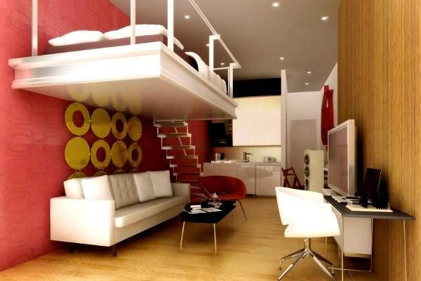 küçük stüdyo daire iç tasarım, fotoğraf 39