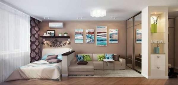 tek odalı küçük bir dairenin tasarımı, fotoğraf 40