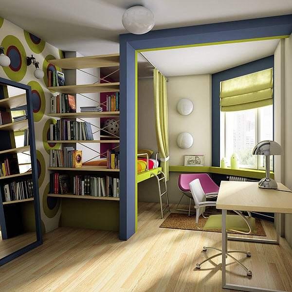 tek odalı küçük bir dairenin tasarımı, fotoğraf 24