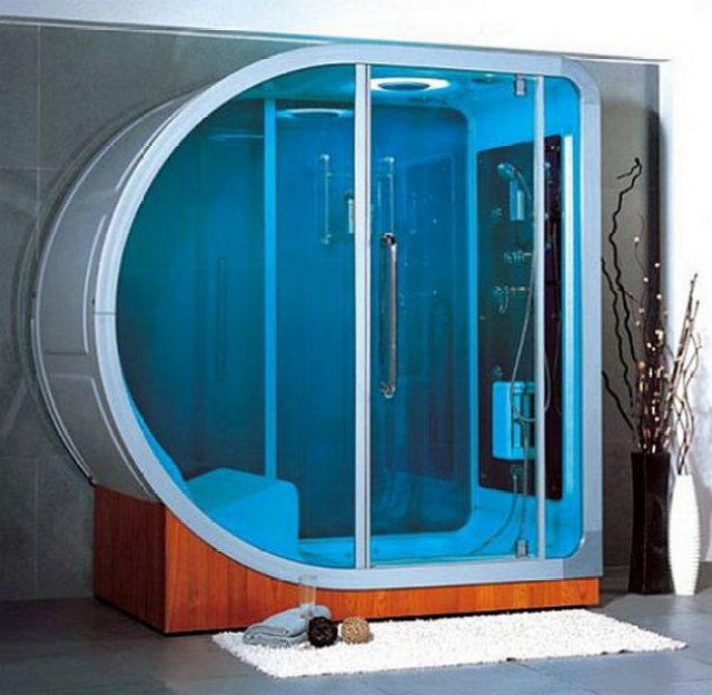 modern duş kabini